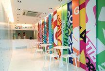 Interior Design: Workspace Stickers / Decals, stickers, workspace