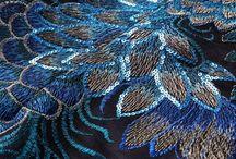 Вышивка: синий цвет / Картинки в синей цветовой гамме из нашего паблика https://vk.com/nashivki