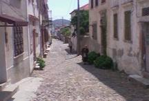 Ayvalık Streets / Ayvalık has own special  architectture, homes, streets