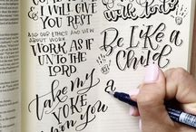 Amanda Arneill | Bible Lettering