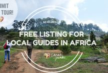 Travel With a Local in Africa / Local Guides in Africa - submit your tours for free.