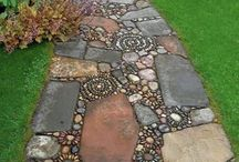 Stepping stones & pathways
