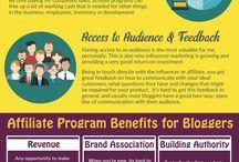 Affiliate marketing tips // ad revenue streams