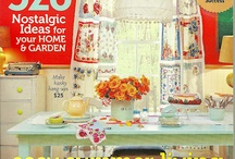 // VINTAGE GARDEN / Nan Edwards Collection and our love of plants and vintage garden accoutrements!