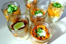 mason jar meals / by Sierra Beckwith