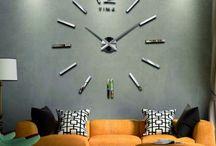 UA Дзеркало настінні годинники. Сучасний годинник на стіні 3D. Прикраси, наклейки на стіну, як карт
