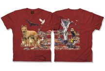 Wild Planet Double Sided Animal T-Shirts / We carry t-shirts from Wild Planet, an Australian t-shirt company that makes awesome over the shoulder and around the body native animal prints! Worldwide delivery available and some designs also available for kids!