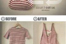 Como hacer una bolsa con una blusa