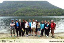 Mr. Bjarte & friends discover lago di Mergozzo / a good team of bikers discover the nature around lago Maggiore and lago di Mergozzo