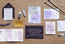 Partecipazioni di nozze - Viola e lilla