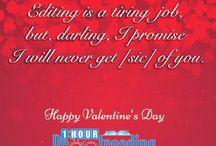 GrammaryThoughts Happy Valentine's Day, everyone! #valentines #valentines2017 #greetingcards #writers #startups