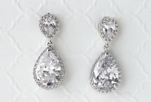Clip-On Wedding Bridal Earrings / CZ Luxury clip-on earrings for your special occasion!