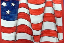 Art Americana / Art projects and creative ideas inspired by Fourth of July.