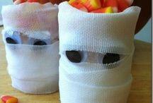 halloween food and decoratoins