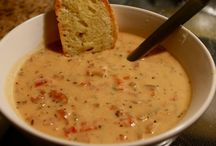 Food:  Soups / by Karen Fortson