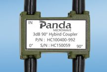 Hybrid Coupler / Panda Microwave ultra wide band 3dB hybrid coupler are widely used in military and wireless infrastructure applications,We offer them in frequencies up to 50GHz,hybrid couplers are basically 3 dB directional couplers.