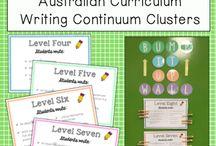 writing contiunuum