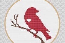 animal cross stitch