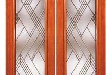 Artistic Glass Doors / Our Artistic Glass Doors make it easy for you to bring more beauty and light into your life. Carefully hand crafted designs are set into strong mahogany true stile and rail construction to give you a selection that perfectly combines beauty with functionality and strength.