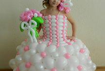 vestidos balões