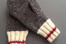 Носки варежки митенки