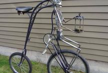 Burn bike inspiration / Inspiration for bicycles for AfrikaBurn!