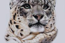 Panter/luipaard/cheetah/lynx tekenideeën