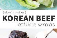 comida japan and korean