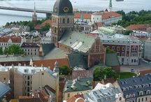 Latvia / There're a lot of amazing places in Latvia that you'll discover about over this board.