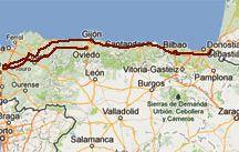 saint jacques de compostelle chemin du nord (Espagne)