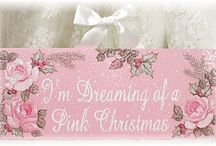 A Cotton Candy Christmas!! / A Pink and Pastel Christmas for Me!! And A Girly Girl Christmas For Us All! / by Victoria Davis