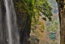 Takachiho Gorge on Kyushu, Japan