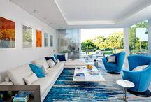 Salas / Ideas para decorar la sala, living room ideas, interior design, decoracion de interiores