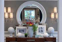 Tablescapes, Wall galleries, & Bookcase Displays