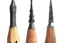 Creioane cu varf sculptat✏