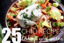 Chili 25 recipes