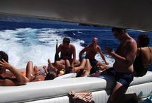 """Sailing to Capri with """"Tornado 38 ft - by"""