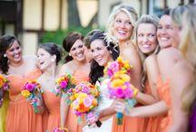 ORANJE! / Oranje boven! Oranje is niet alleen voorbehouden aan het koningshuis, het is ook een supervrolijke kleur om de mooiste dag van je leven mee in te kleuren!