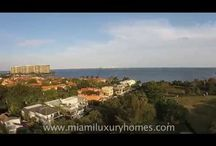Miami Real Estate Videos / Aerial drone and real estate videos shot by Michael Light of Miami Luxury Homes and posted on www.miamiluxuryhomes.com