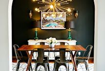DINING ROOM SPACES.