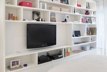 Mueble organizador habitacion