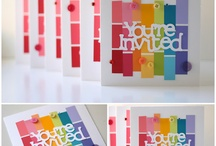 Paint chip ideas / by Renelle Renee