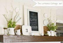 Fireplaces and Mantels / by Debra Oliver (Common Ground)