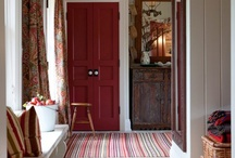 Entry Way / Beautiful and practical cottage style entry and mudroom solutions.