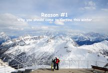 Reason # why you should come to Cortina this winter / Pics of the most beauful views of Cortina d'Ampezzo and the Dolomites