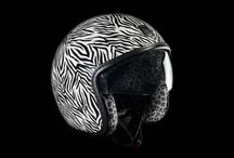 Racer Jet Zebra / Casque jet Exklusiv racer Zebra #jet #helmet #zebra #design #look #street #style #vintage