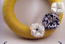 Make It @MADL - Yarn Wreath