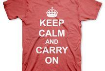 Keep Calm / Remeras Keep Calm