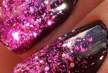make up - nail art