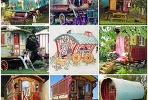mobile homes and caravans / by Julie Payne